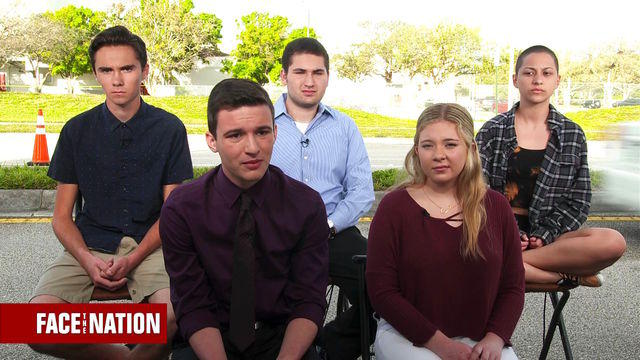 Image result for parkland students face the nation