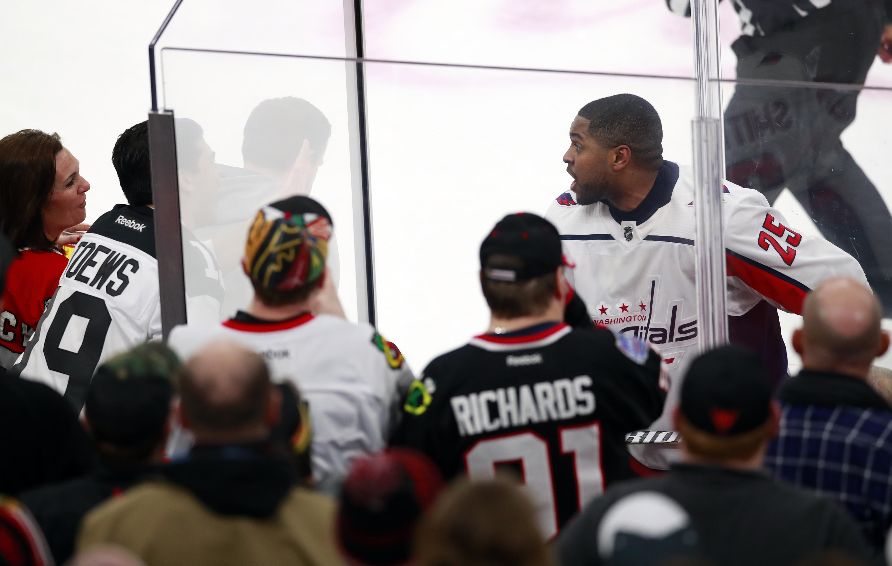 b0f591a1f59 Black NHL player responds to fans  racial taunts - CBS News