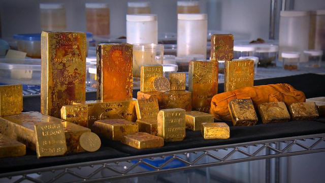 sunken treasure from gold rush era shipwreck to go on display cbs news
