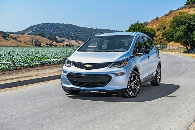 All Electric Chevy Bolt Honored In Consumer Reports Rankings