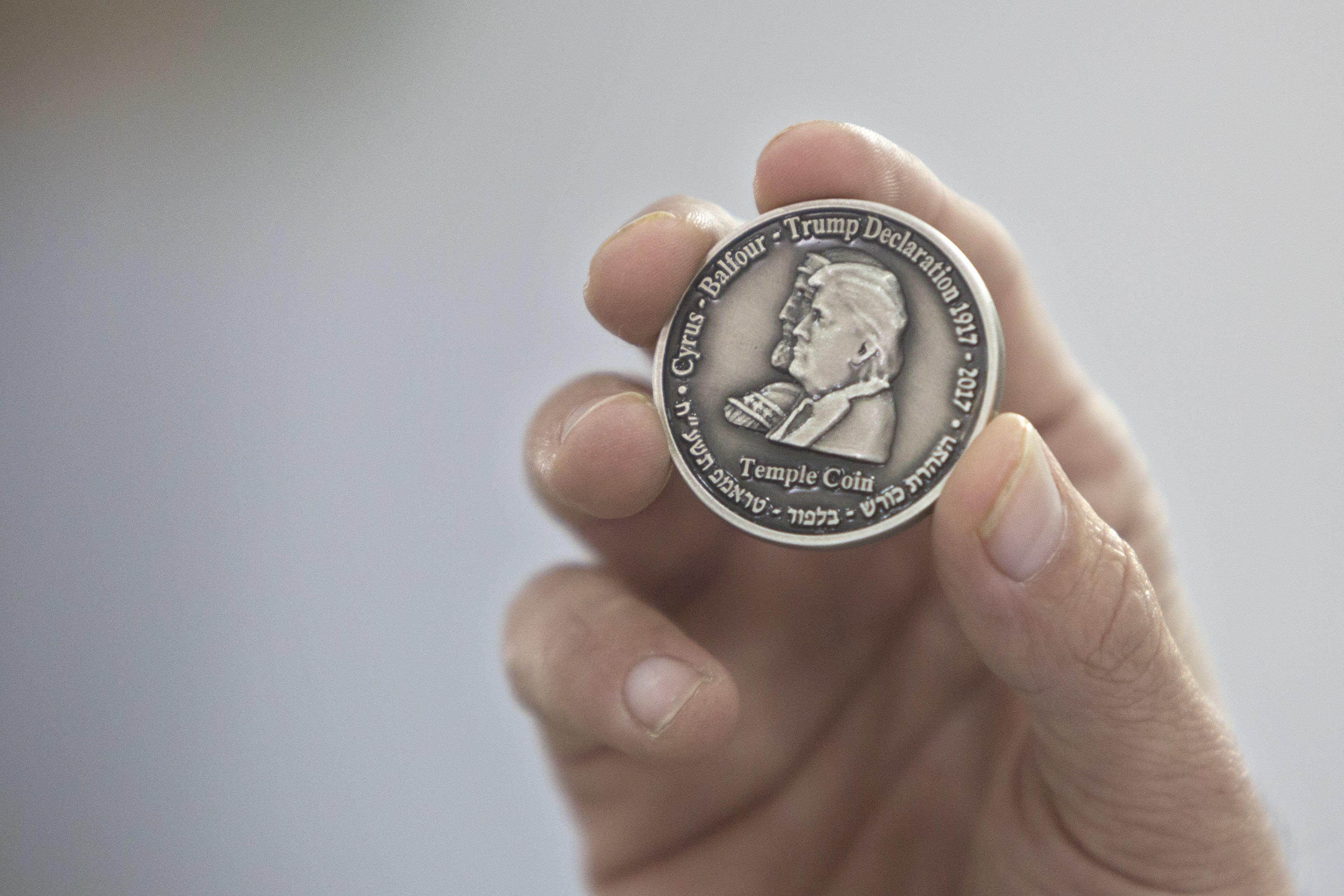 Israel Trump Coin Honors Recognition Of Jerum As Capital