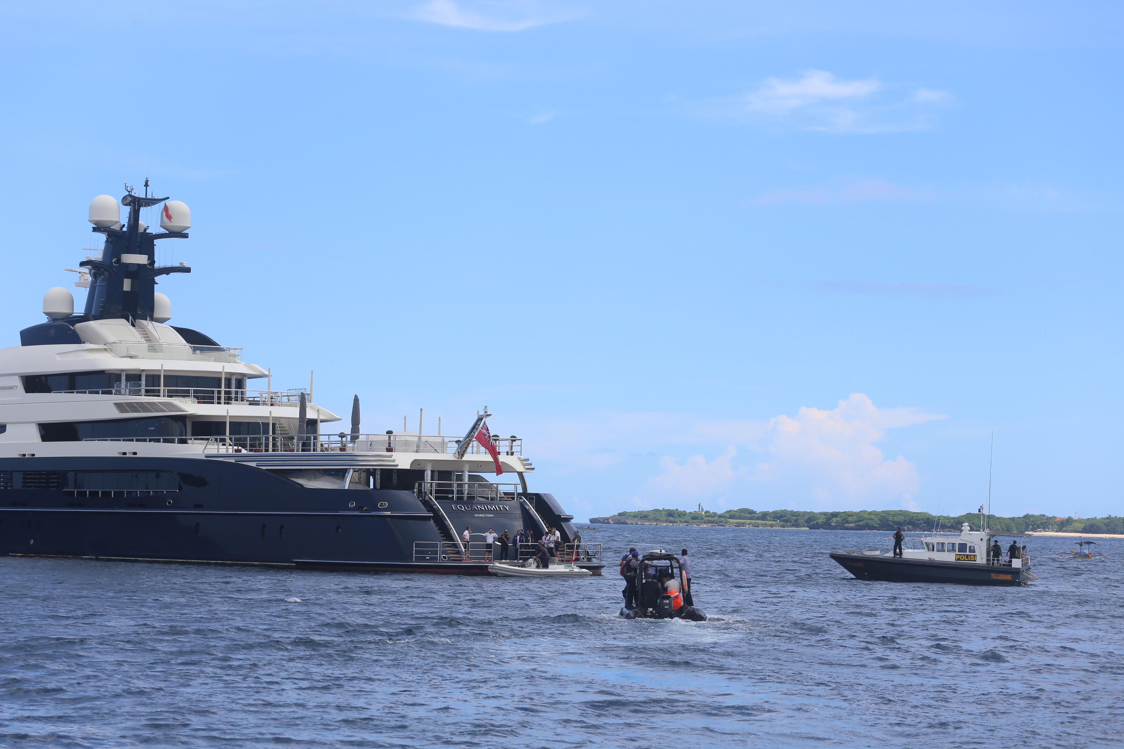 Luxury Yacht Wanted By U S In Corruption Probe Seized Bali