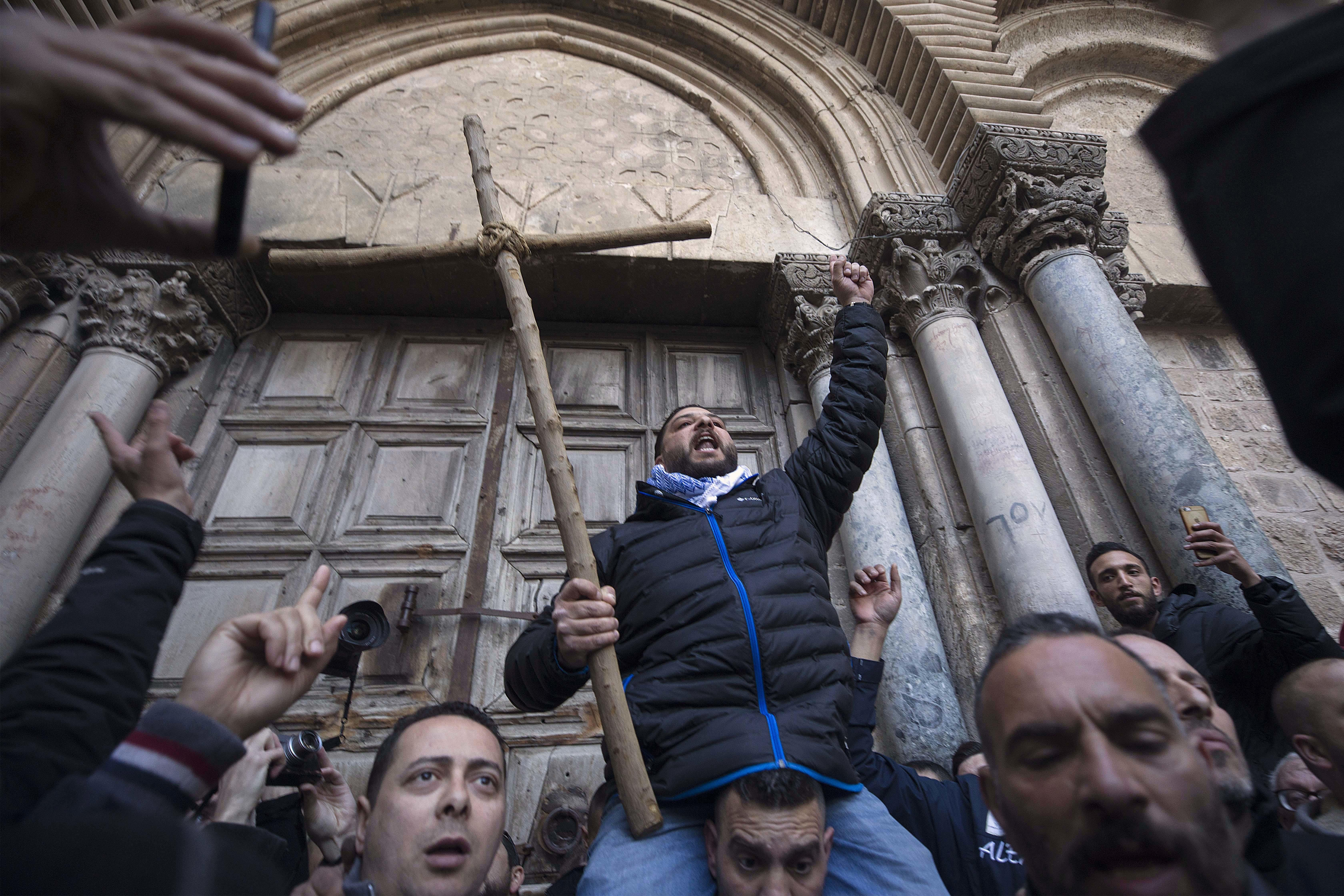 Jew Detector: Israel's Church Of The Holy Sepulchre Reopens In Jerusalem