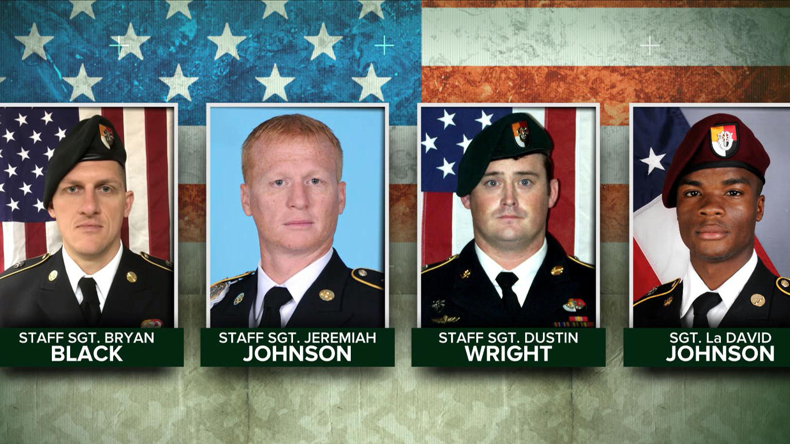 Newly-released video shows U S  soldiers under attack in Niger