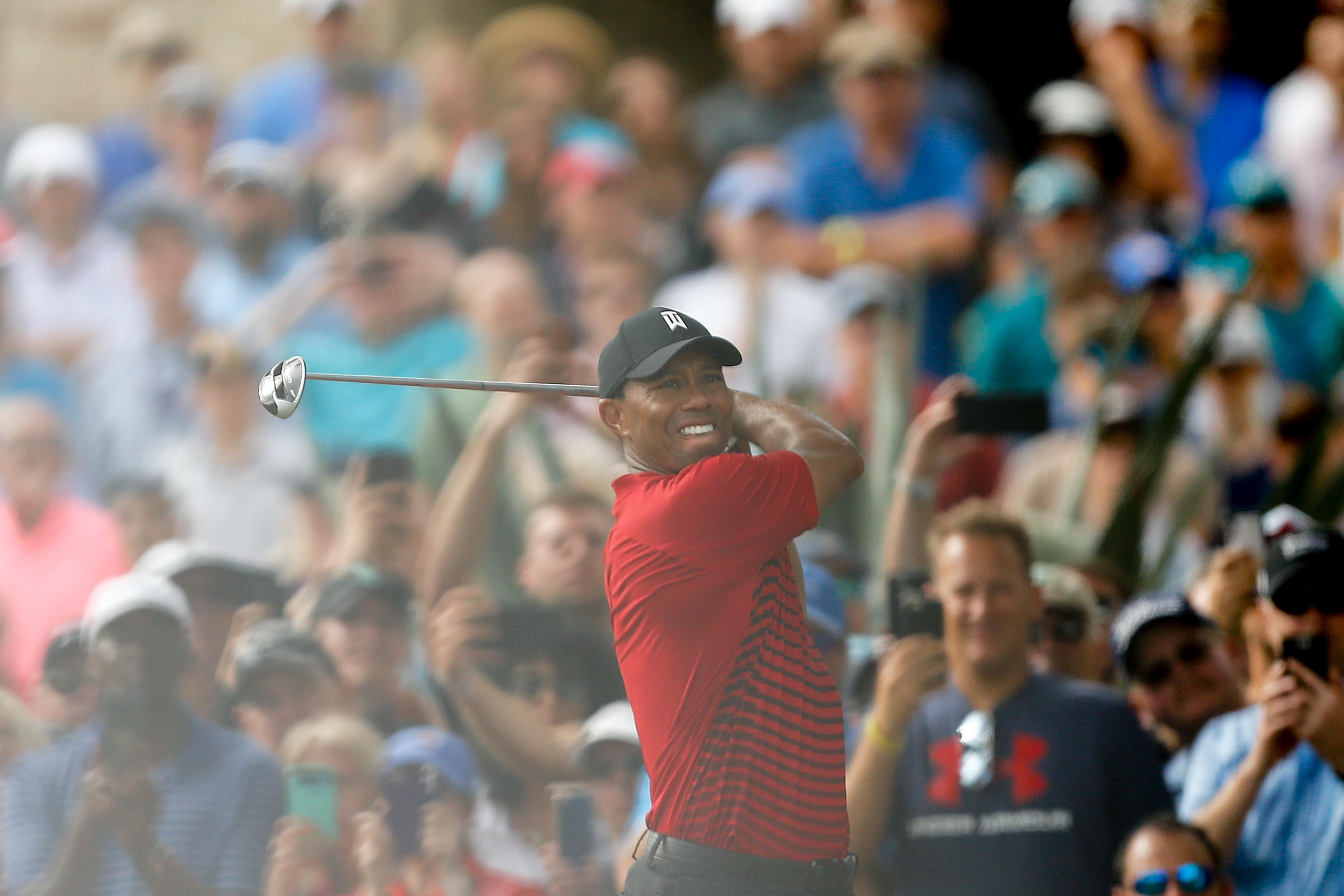 tiger woods ties for second  paul casey wins at valspar championship