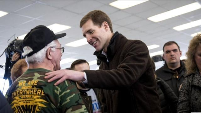 Image result for photos of conor lamb and rick saccone