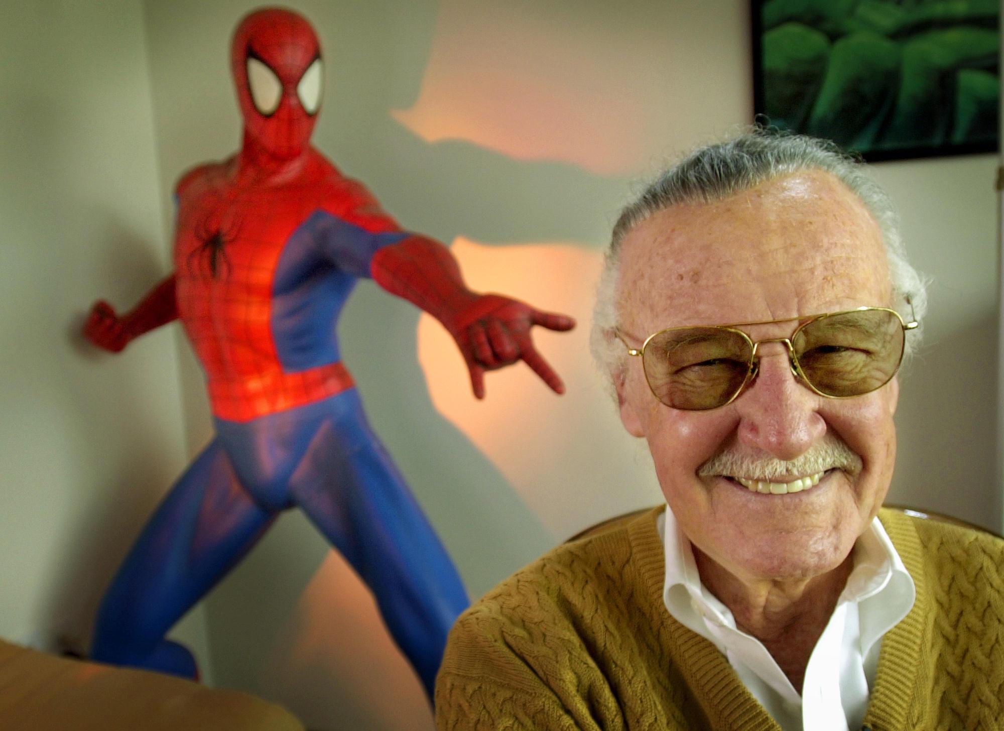 Celebrities React To Of Marvel Legend Stan Lee