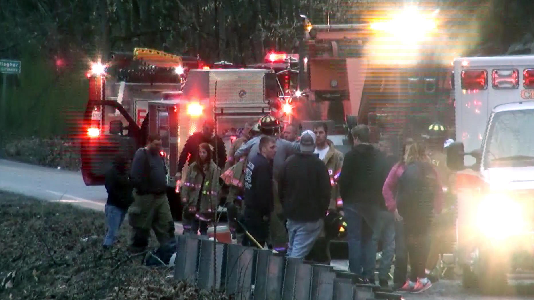 2 West Virginia firefighters among victims in deadly crashes