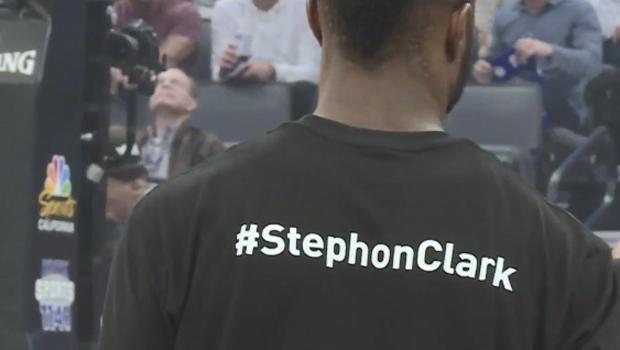 44c413e84 NBA's Sacramento Kings, Boston Celtics wear T-shirts honoring Stephon Clark