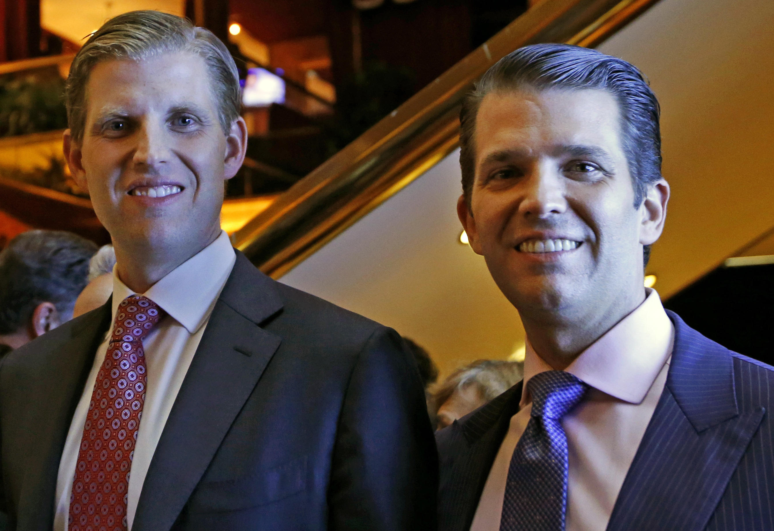 Trump sons' trip to Dubai costs taxpayers at least $73,000