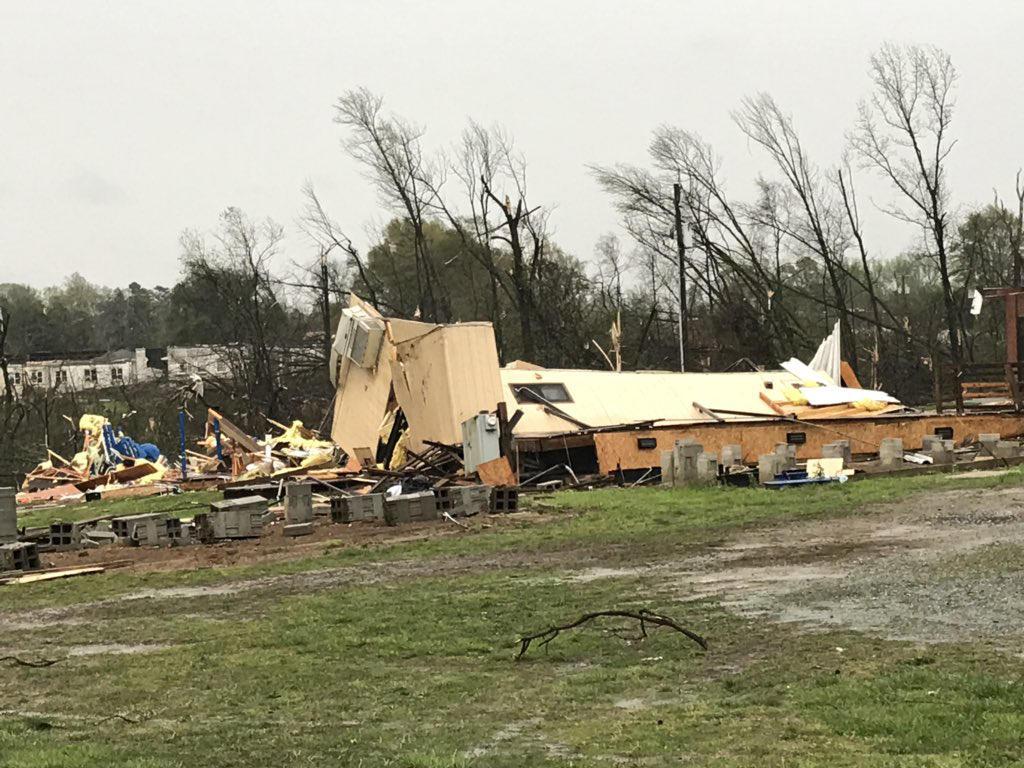 Greensboro, North Carolina, under state of emergency after tornado
