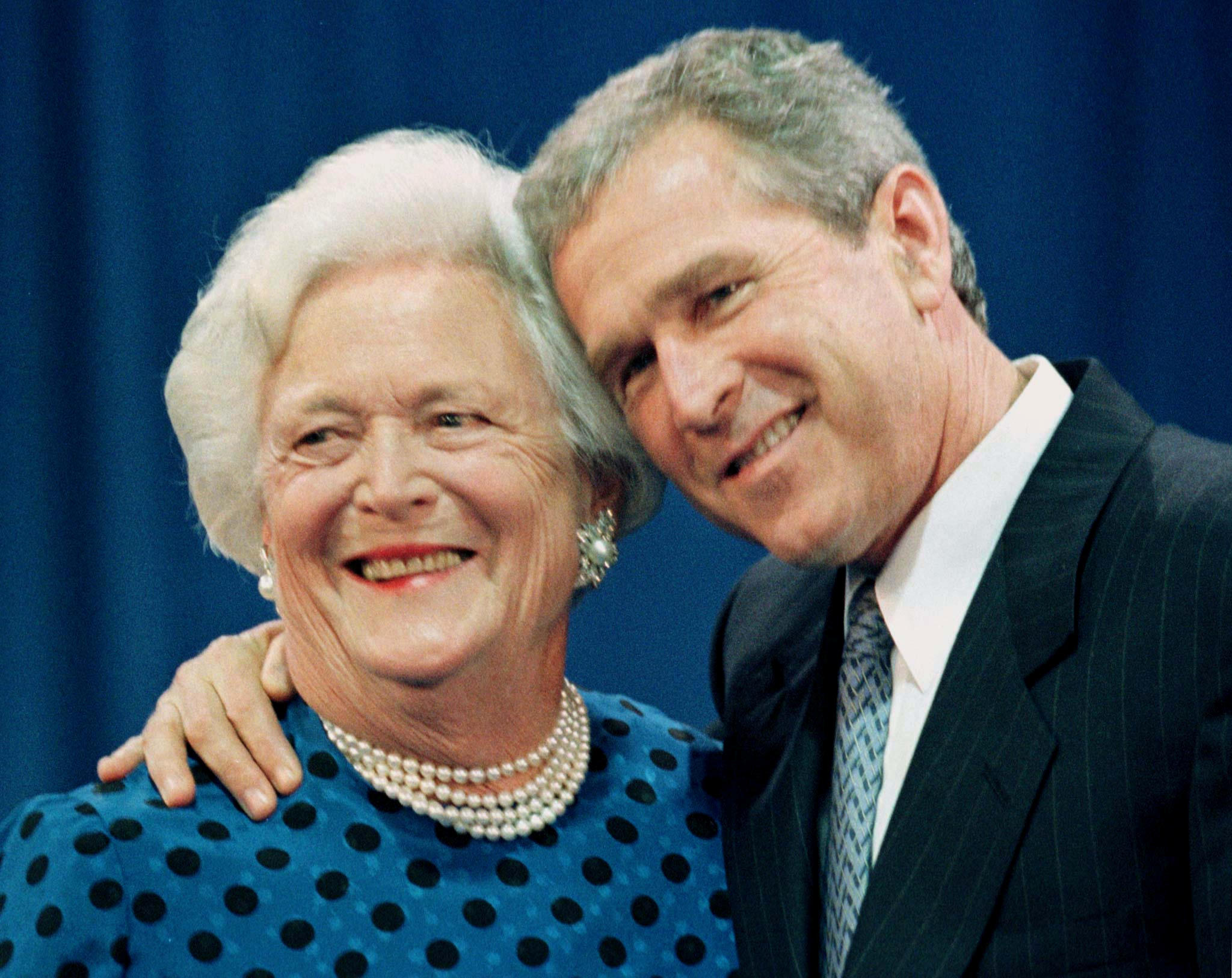 President George W Bush On Loss Of Barbara Bush It S The End Of A
