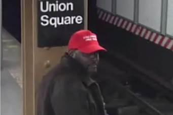 MAGA-hat wearing suspect in subway attack arrested 3502ad8568bc