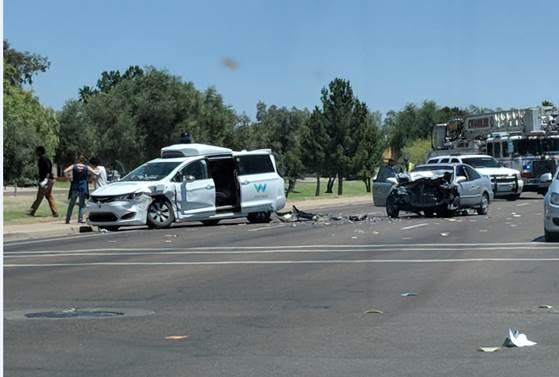 Waymo self-driving SUV involved in crash in Chandler, Arizona - CBS News