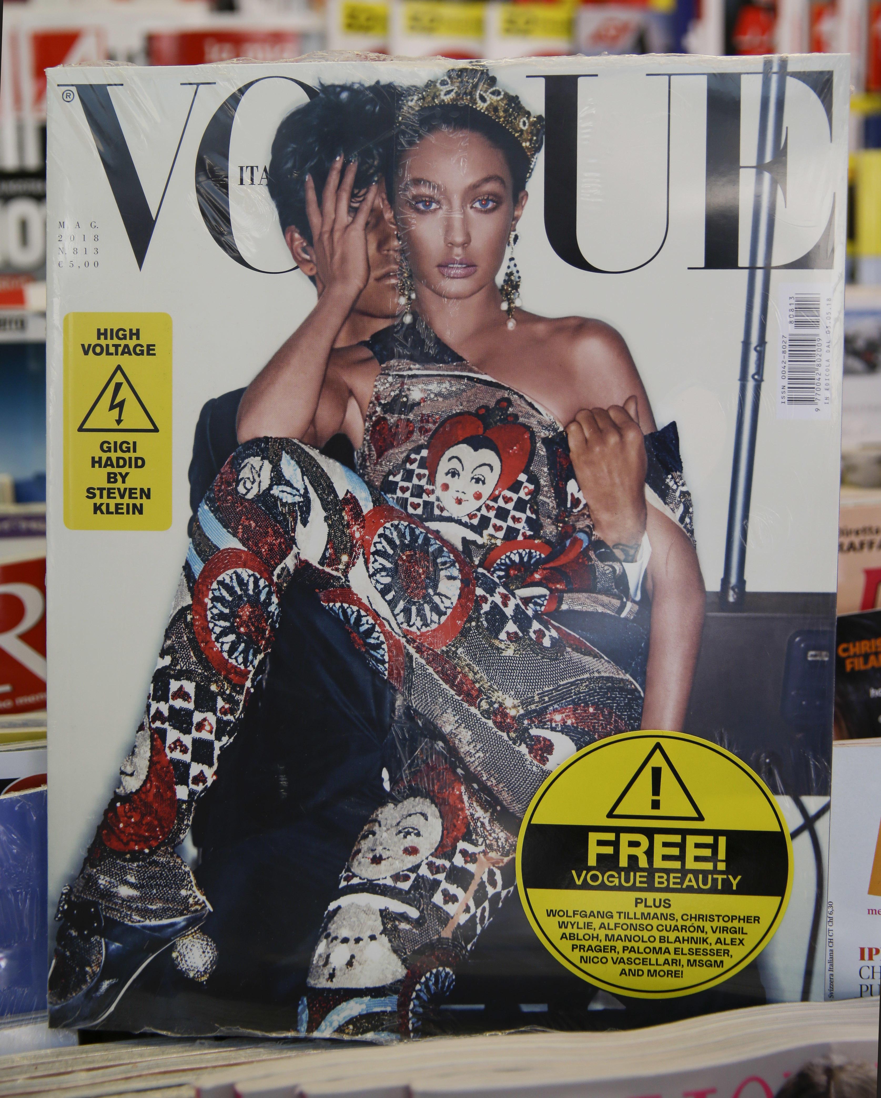 Vogue Italia and Gigi Hadid apologize for darkened skin tone on cover 89eacbeedcc9