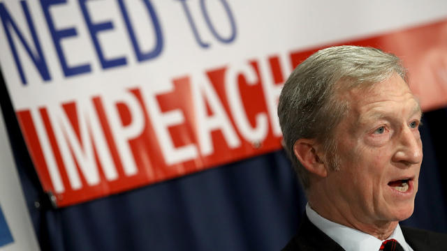 Tom Steyer slams Washington establishment for not pursuing Trump