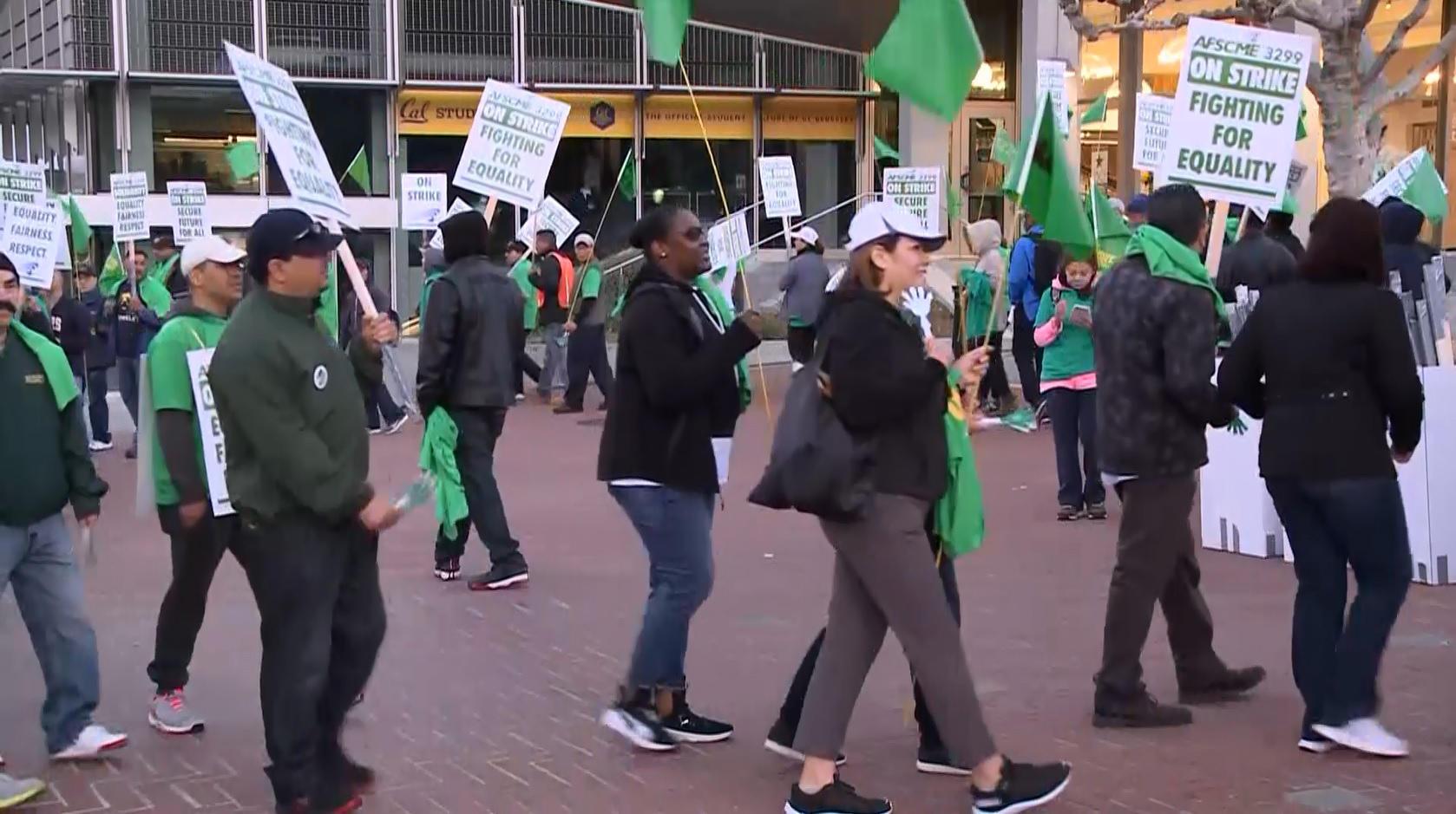 UC strike 2018: University of California workers go on