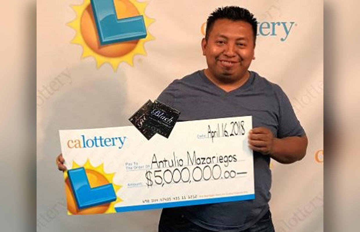 Man buys 4 winning lottery tickets – including scratch-offs worth $5