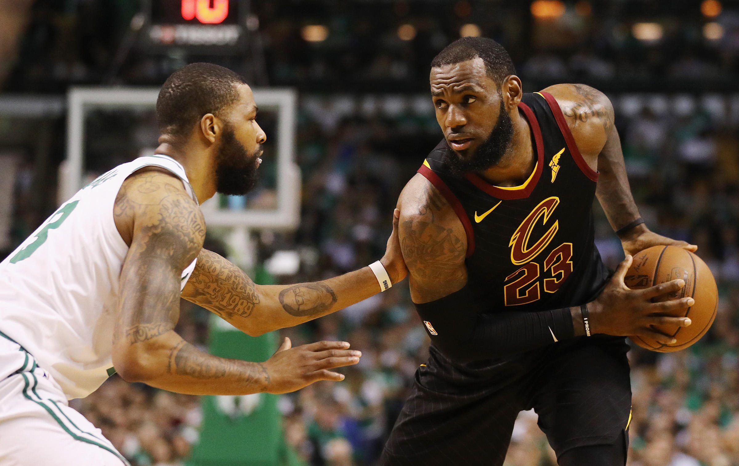 watch nba playoffs 2018: cleveland cavaliers vs. boston celtics