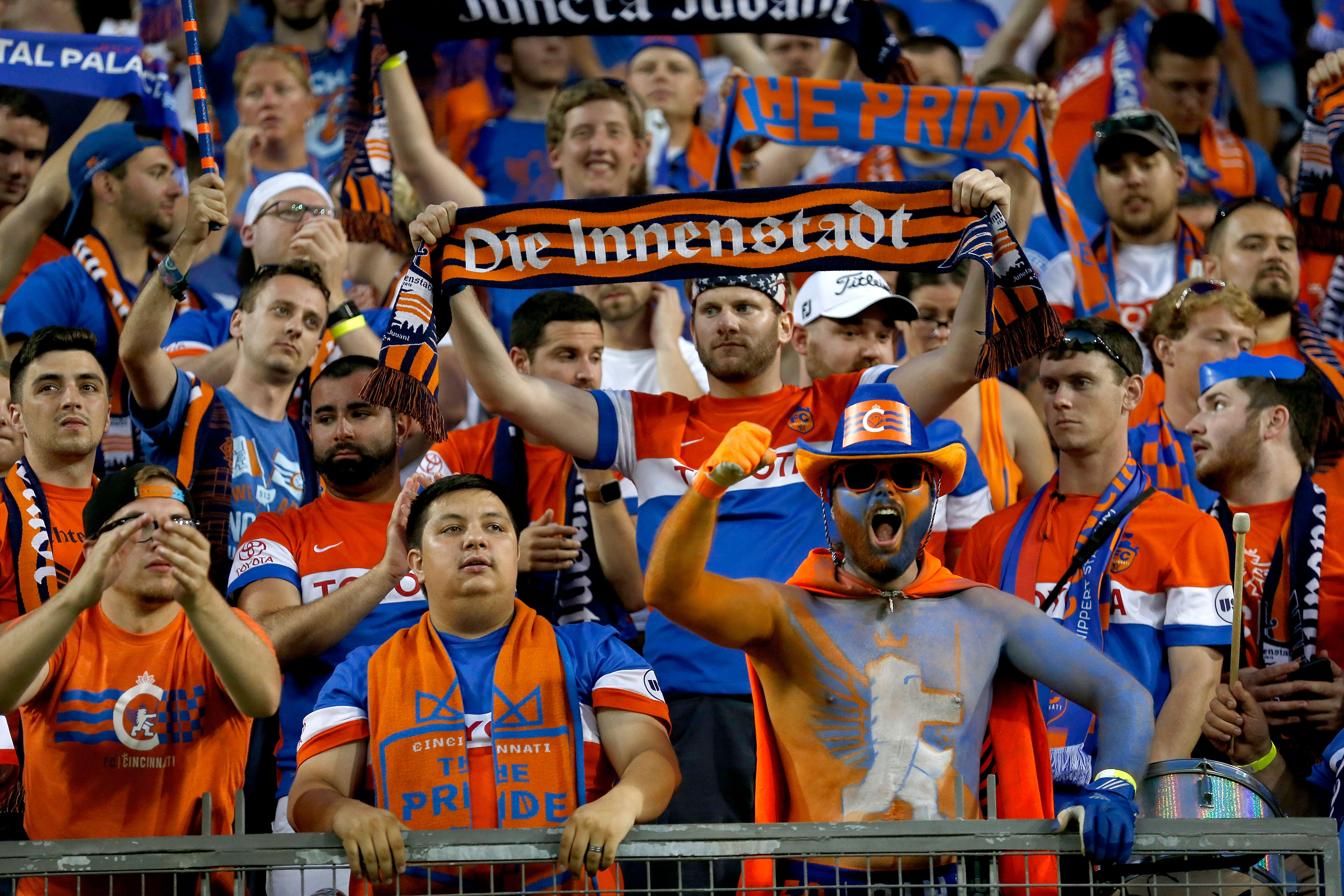 more photos 1f989 14260 FC Cincinnati: MLS expansion team awarded Tuesday for the ...
