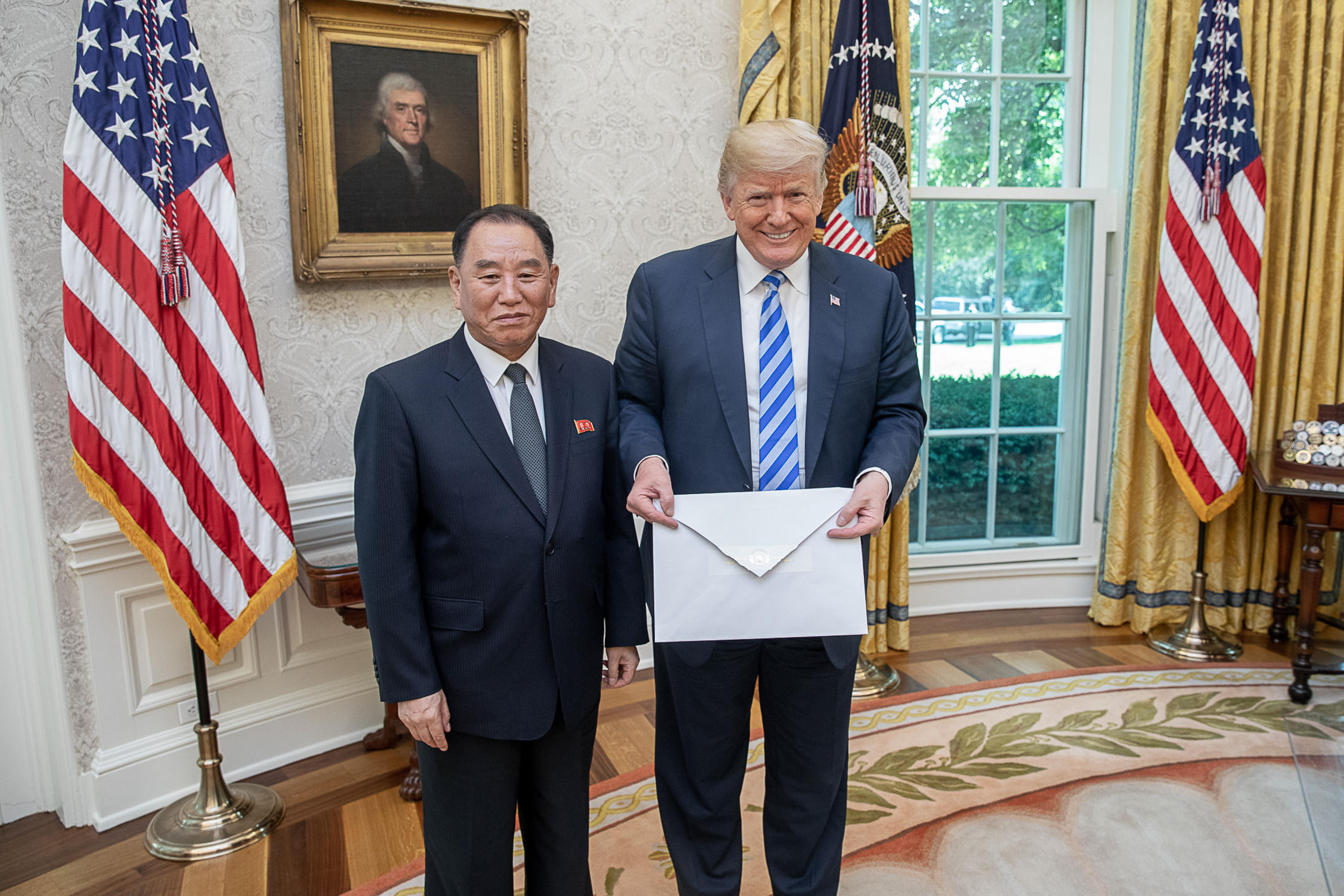 Kim Jong Un letter to Trump: Pushing the envelope?   CBS News