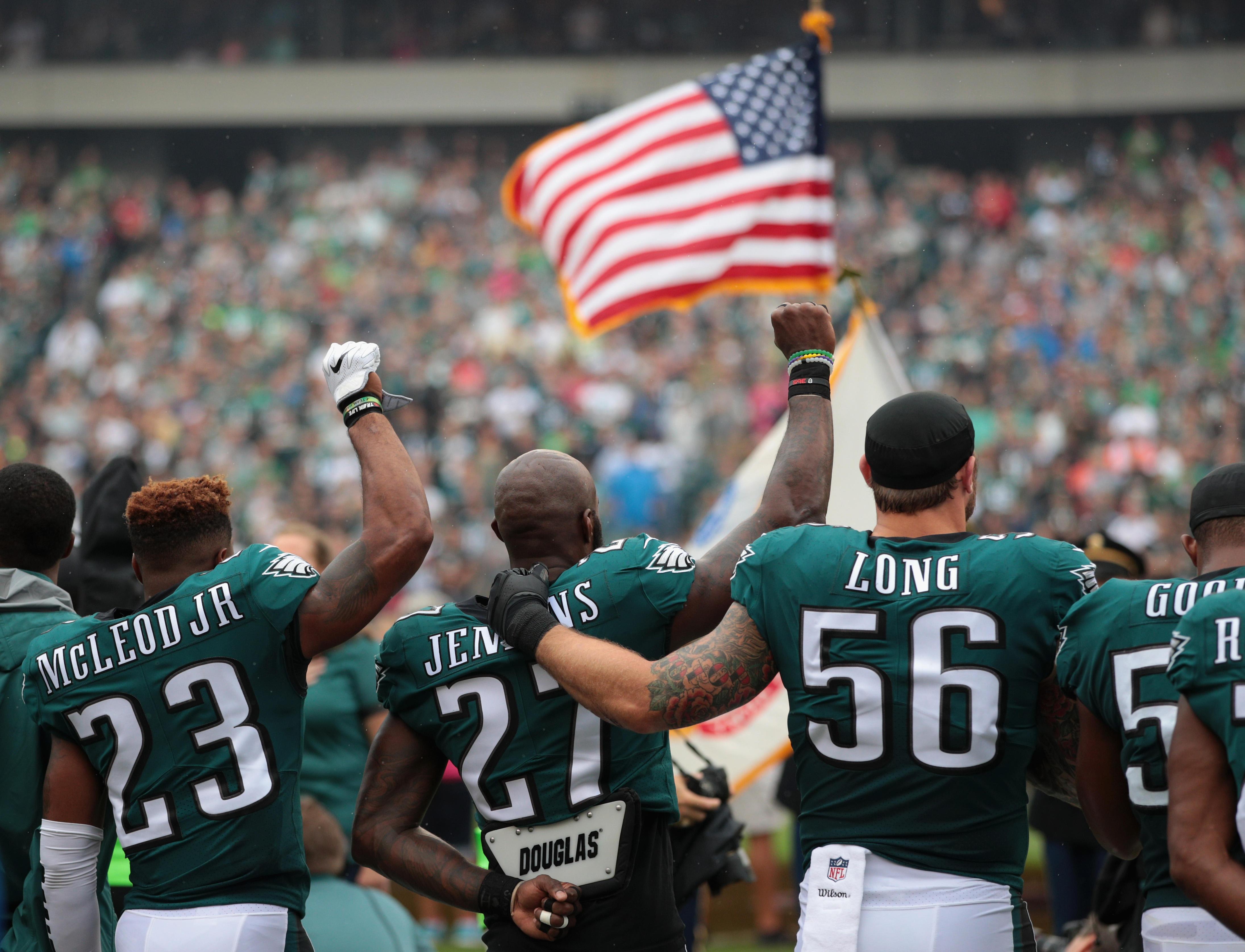 940cb418088 Trump disinvites Philadelphia Eagles from White House over anthem dispute