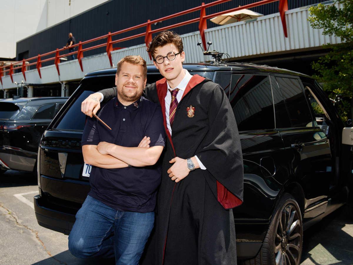 Shawn Mendes Reveals He S A Harry Potter Nerd On Carpool Karaoke