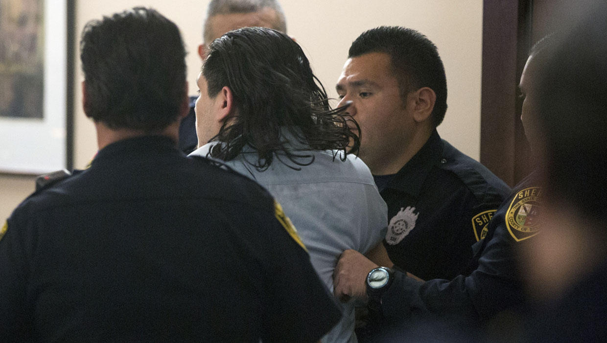 Courtroom chaos after guilty verdict in grisly dismemberment