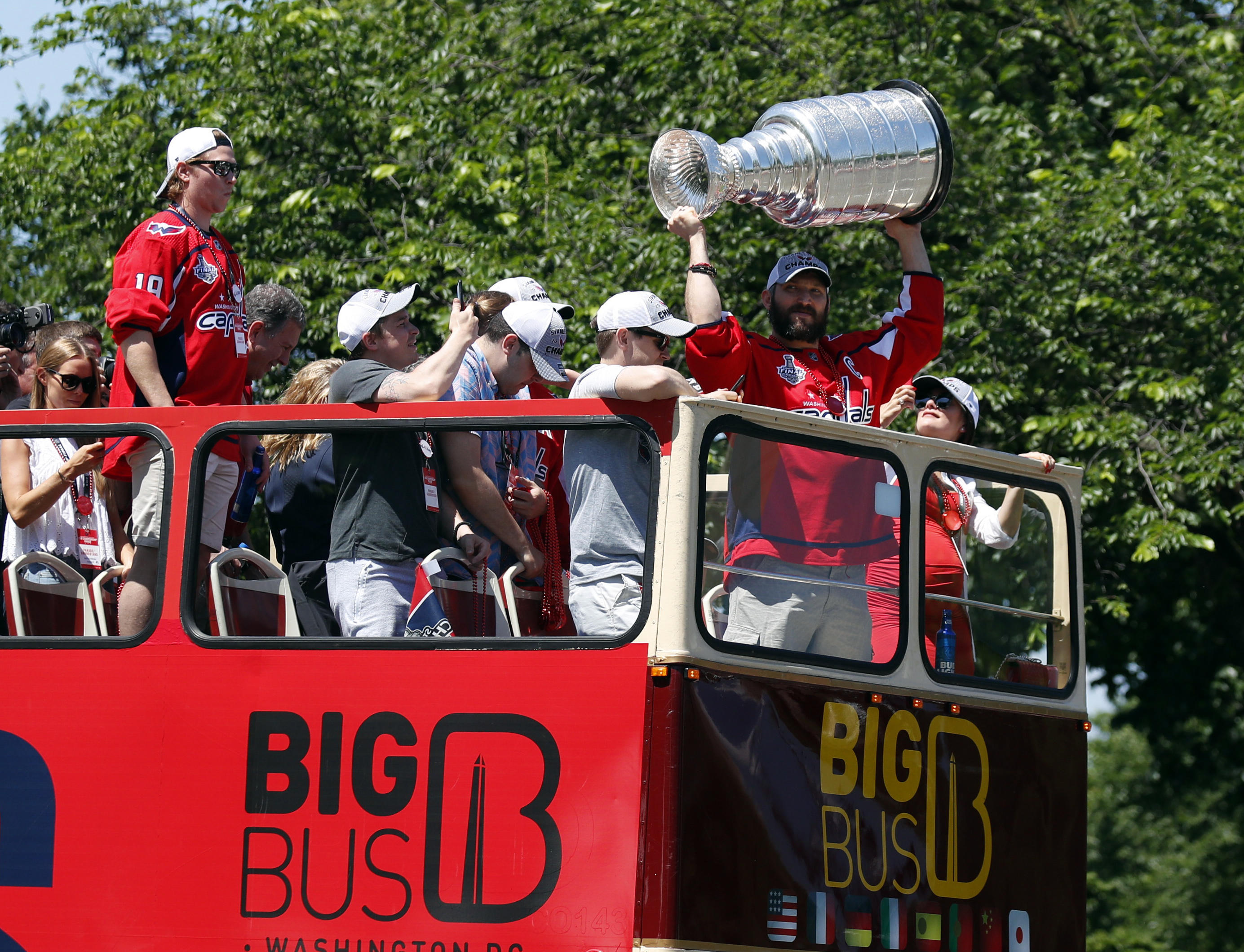 3301ca3d0de Washington Capitals parade  How to watch the Stanley Cup champs celebrate. June  12