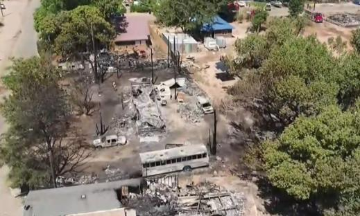 Western Wildfires: Blaze destroys homes in Moab, Utah, forces