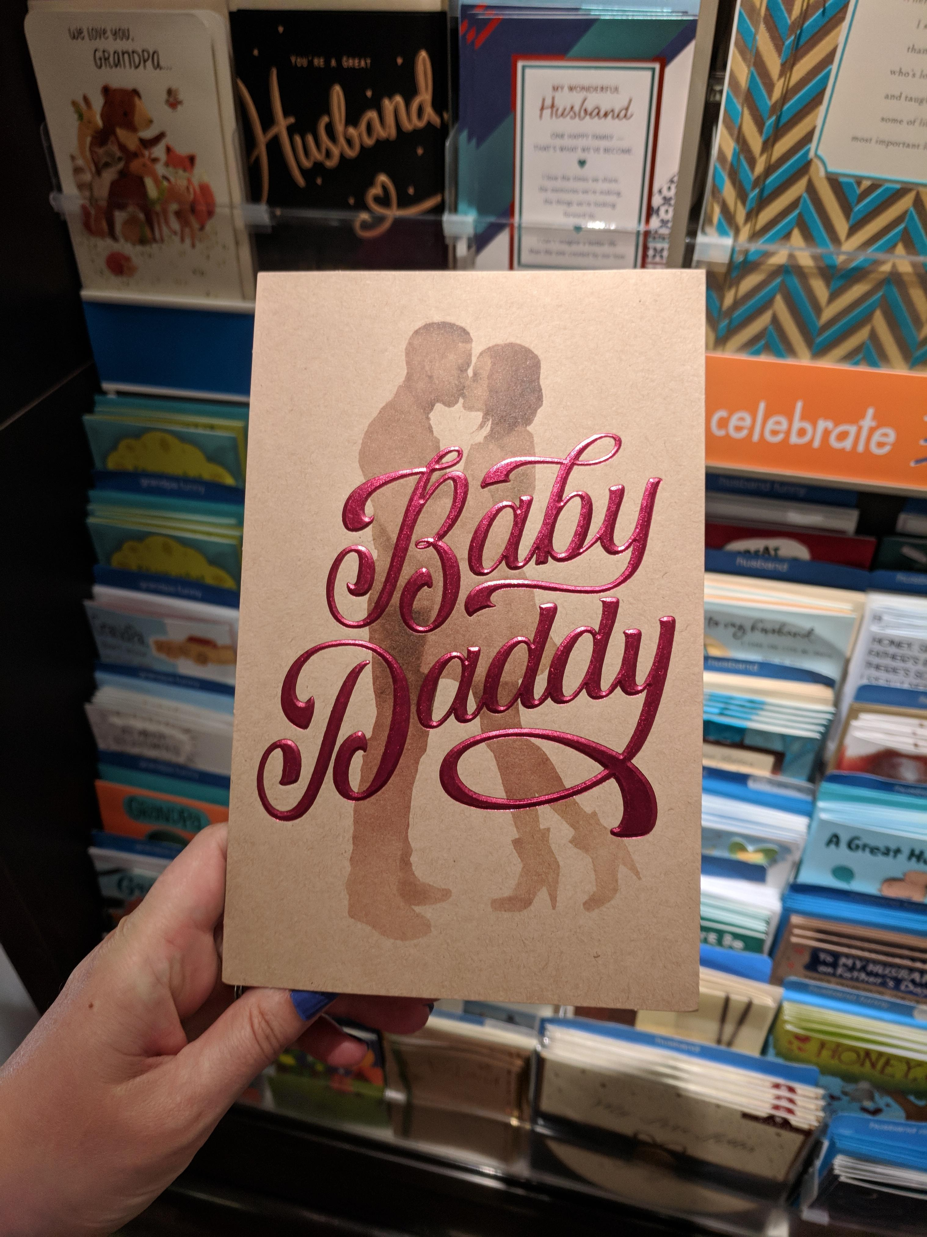 Baby Daddy Father S Day Card Pulled From Shelves American Greetings Target Apologize