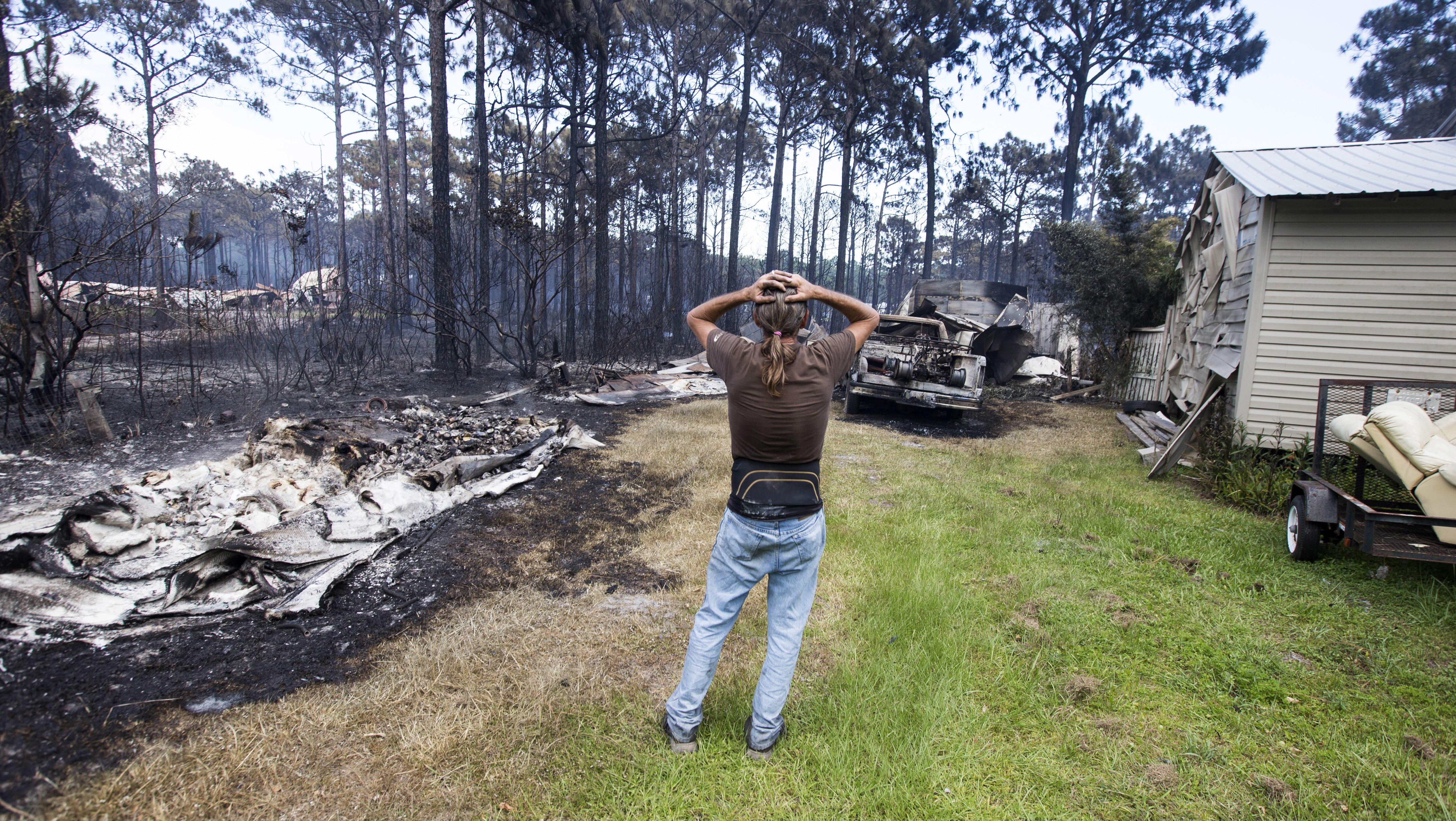 Florida Wildfire That Destroyed 36 Homes Was Sparked By Controlled