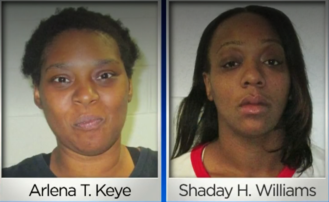 Two women accused of shoplifting while leaving 4 children in hot car