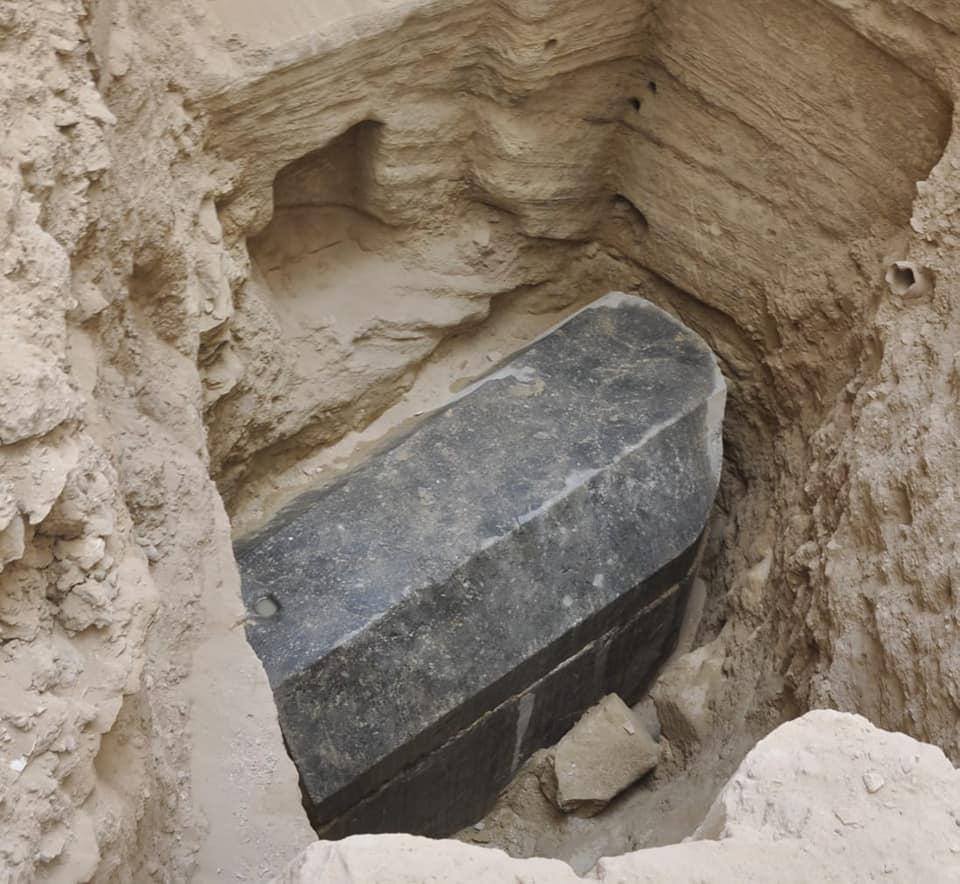 Ancient tomb discovered on construction site in Egypt ...