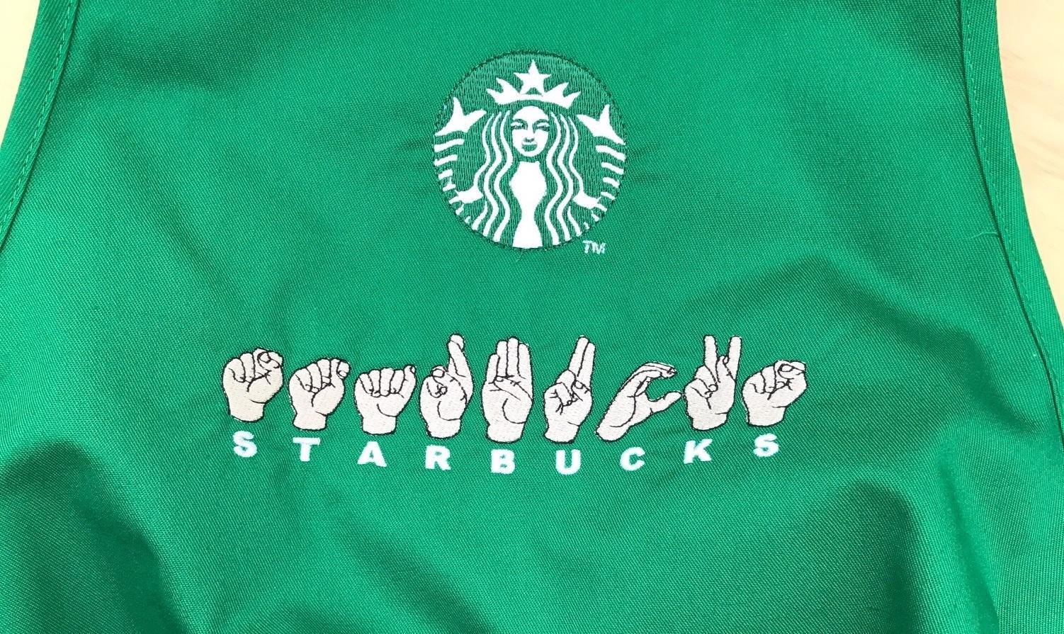 Αποτέλεσμα εικόνας για starbucks sign language store