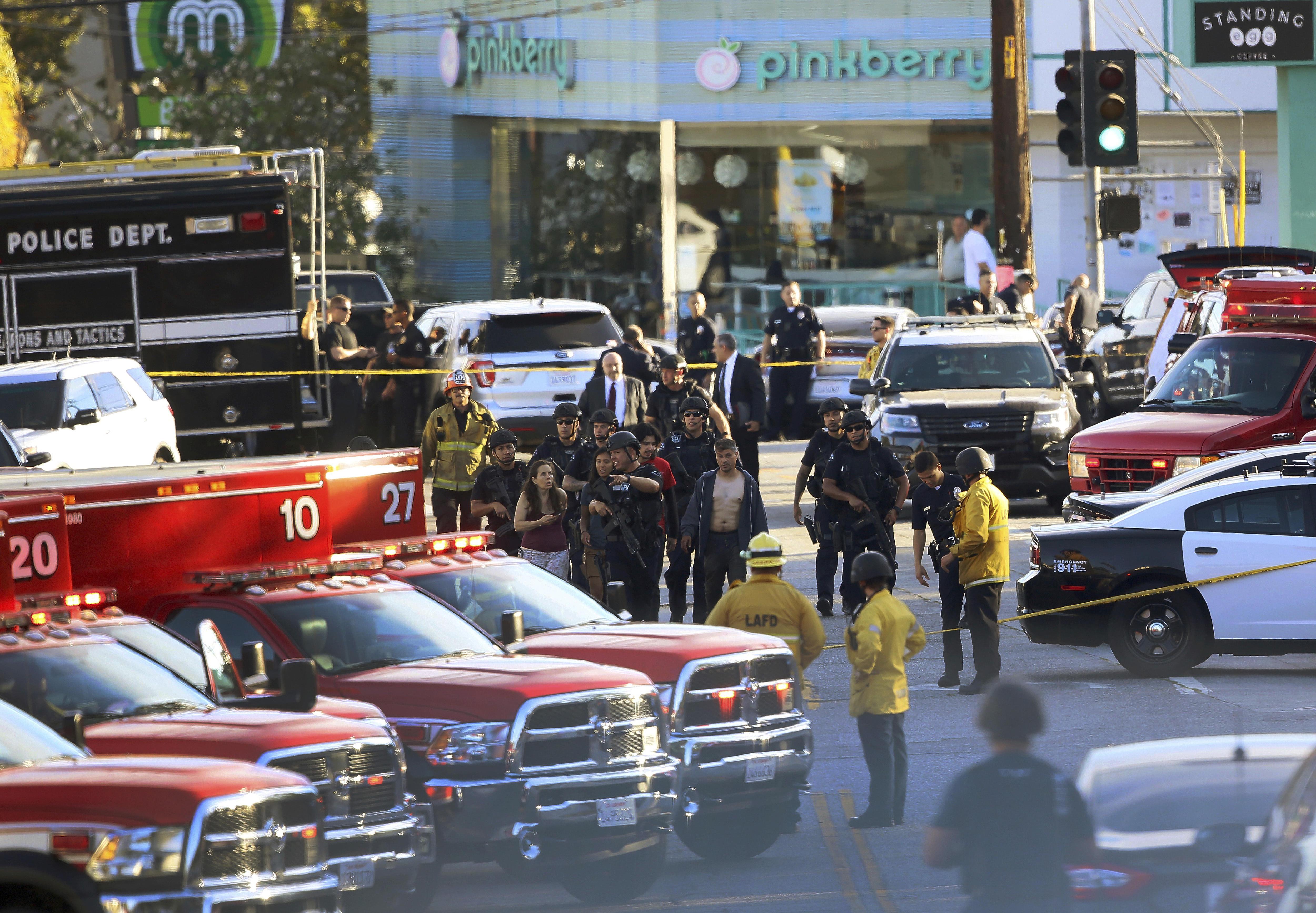 Trader Joe's shooting: 1 woman killed, suspect in custody at