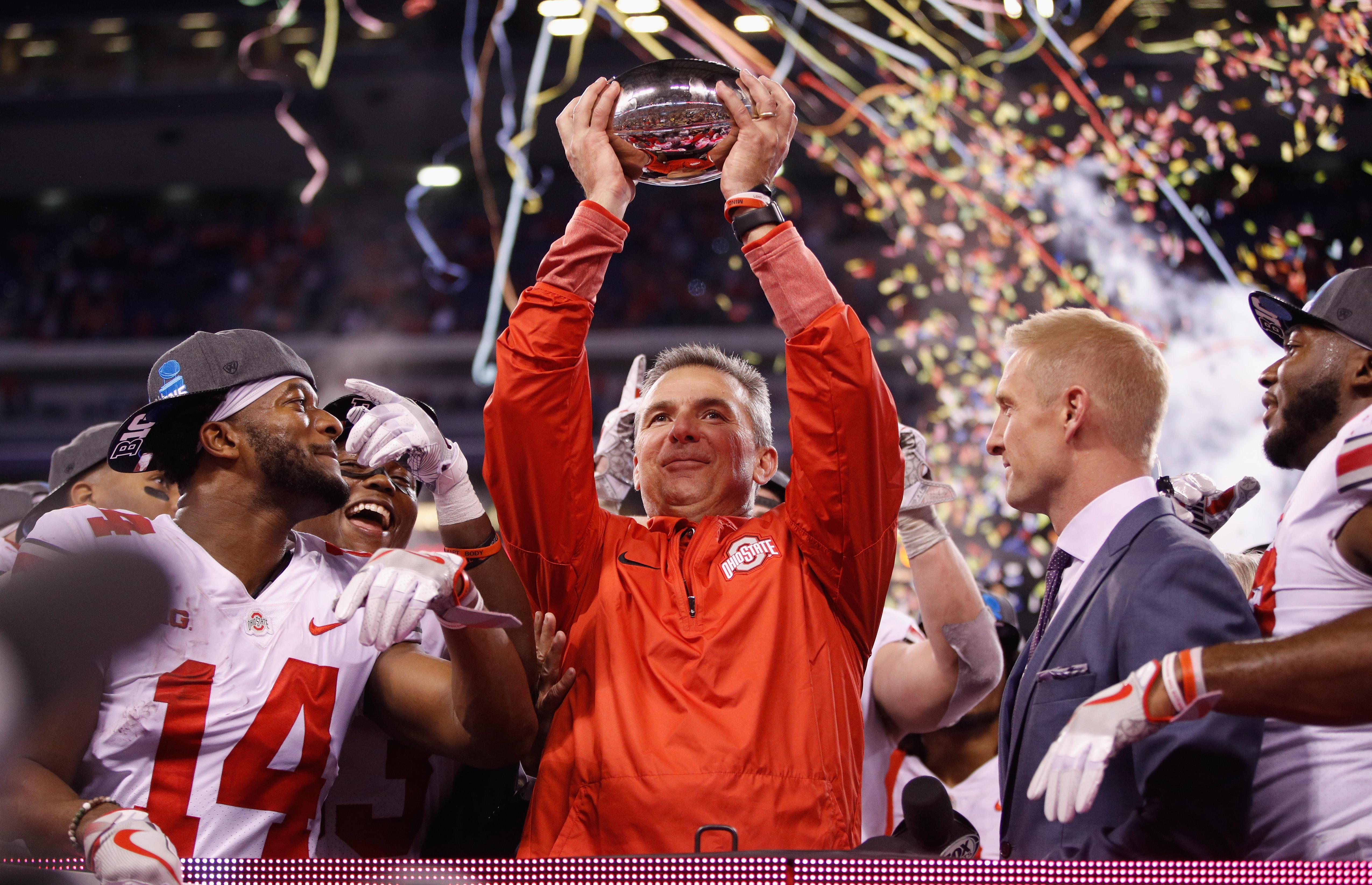 Ohio State  Urban Meyer head football coach suspended three games ... fb82b7a25