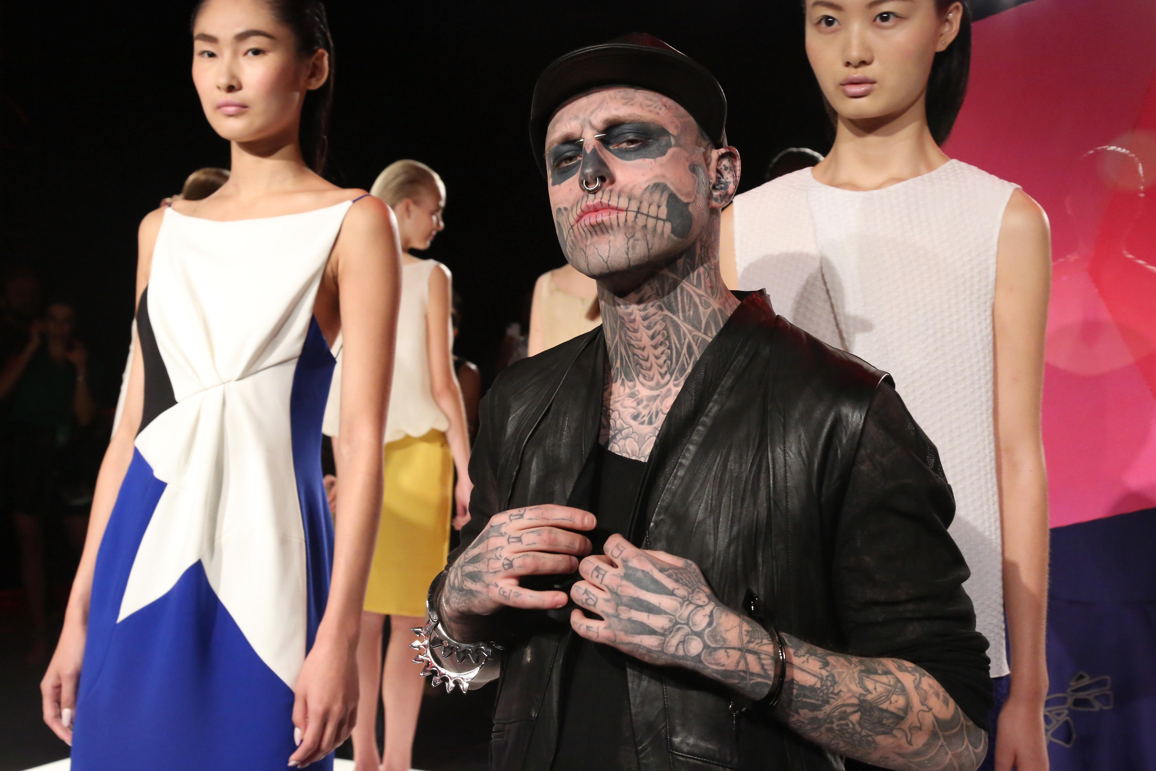 rick genest zombie boy model and lady gaga collaborator is dead