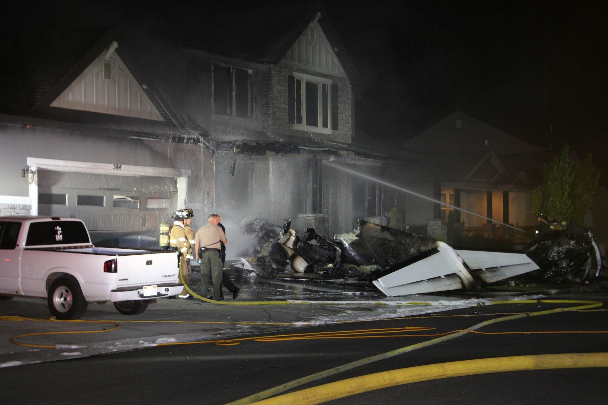 Utah Plane Crash Duane Youd Crashes Cessna Into Home Dies After