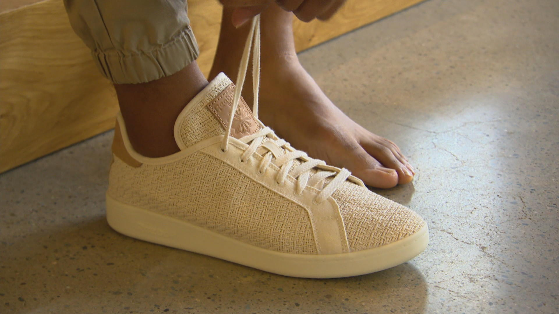 ddcc2205c1 Reebok launches sustainable sneaker made from cotton and corn - CBS News