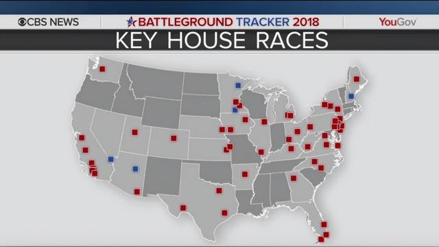 CBS News Battleground Tracker Poll: Democrats in stronger position ...