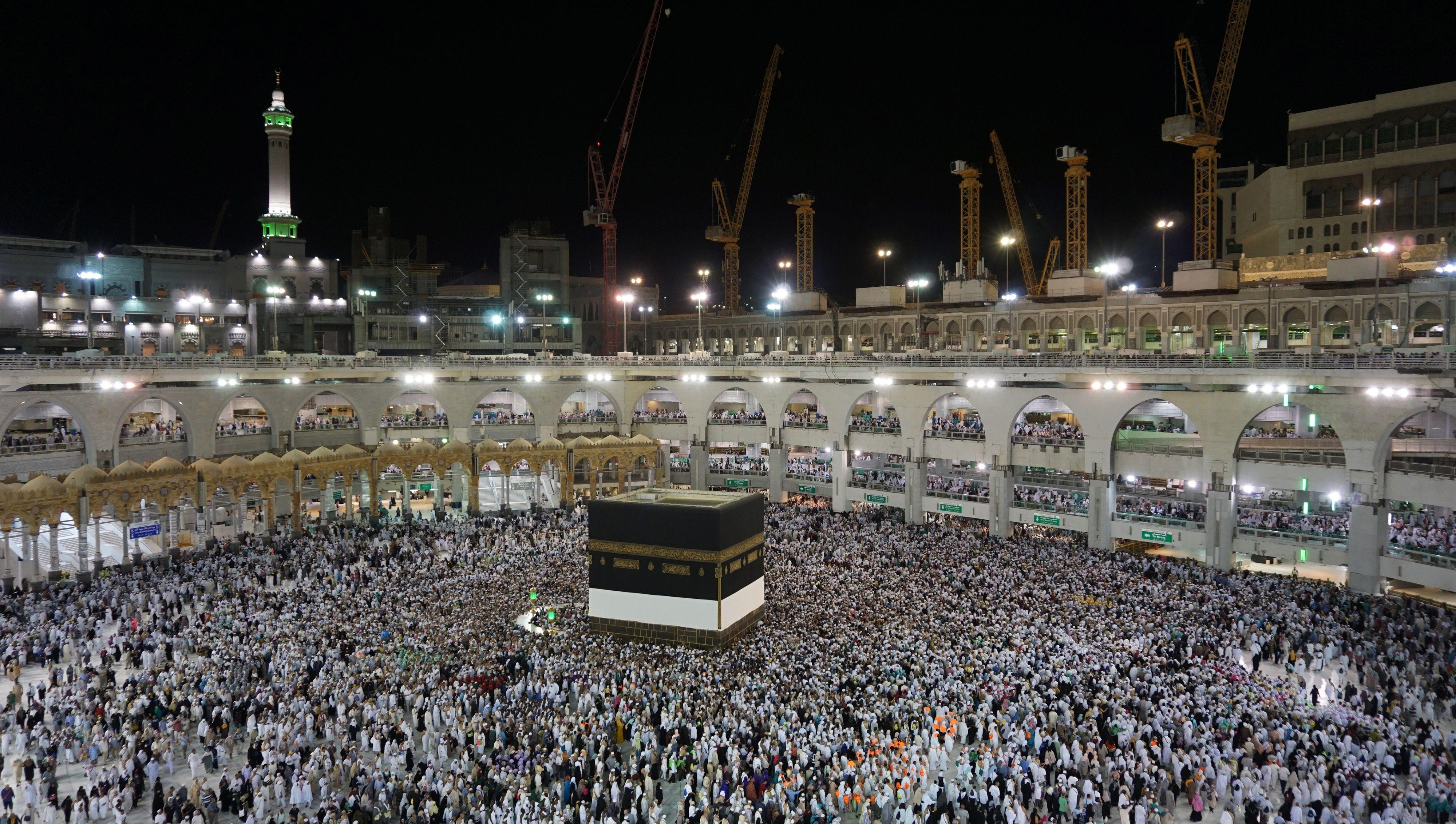 More than 2 million Muslims gather in Mecca as hajj pilgrimage