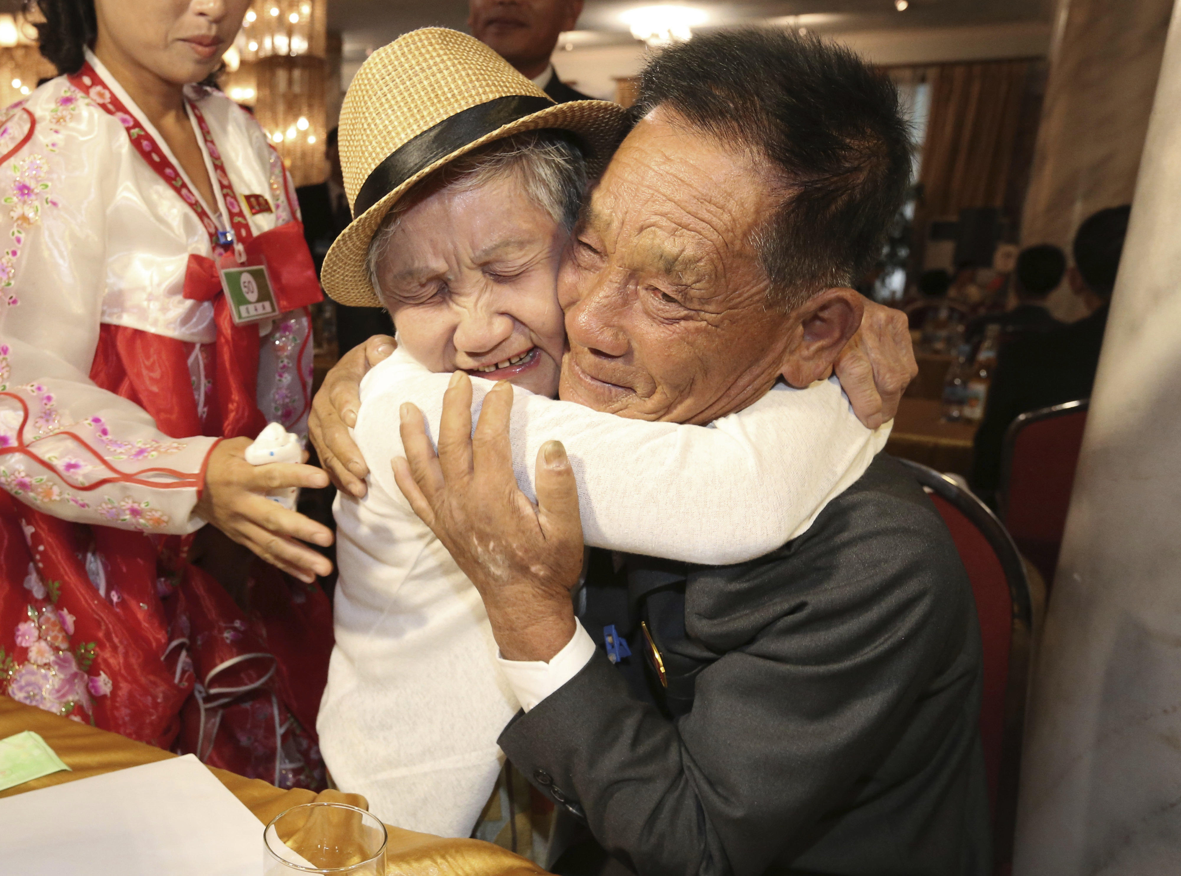 families in north and south korea reunited for first time since