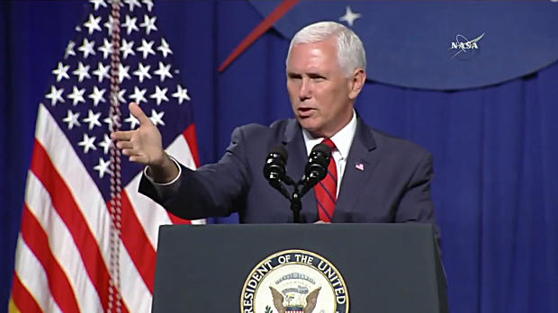 Vice President Mike Pence rallies NASA space workers with visions of ... fc937eef8
