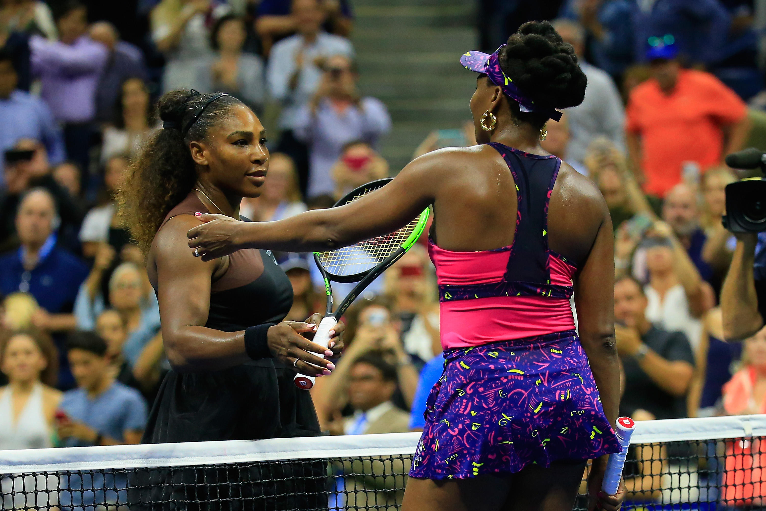 Image result for venus and serena williams us open