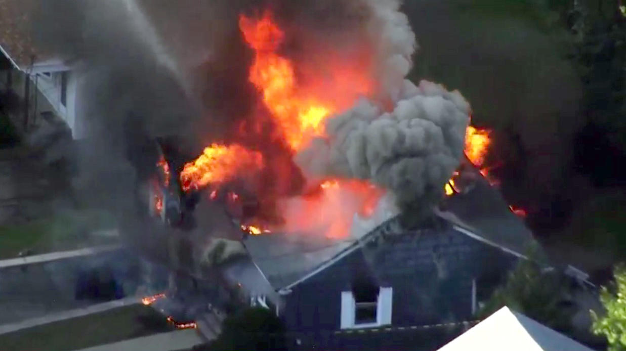 Multiple fires, gas explosions in Lawrence, Andover and