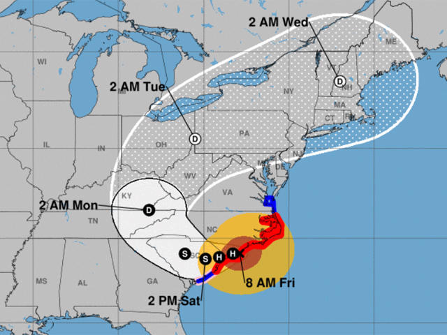 Hurricane Florence by the numbers:Rainfall totals, flooding, power on