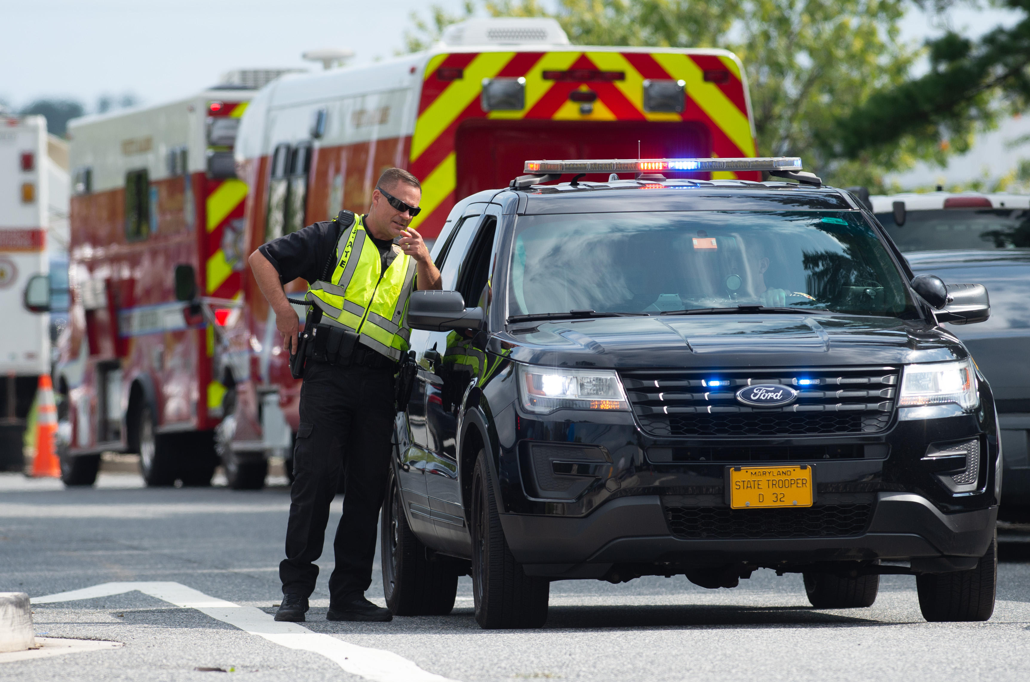 Maryland shooting today: Suspect dead, ID'd as temporary employee at