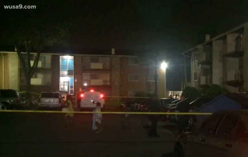 Maryland police shot in Prince George's County entering