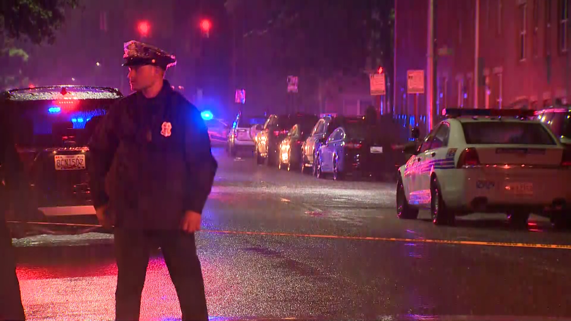 Baltimore Shooting Today Veteran Officer Wounded Suspect Fatally